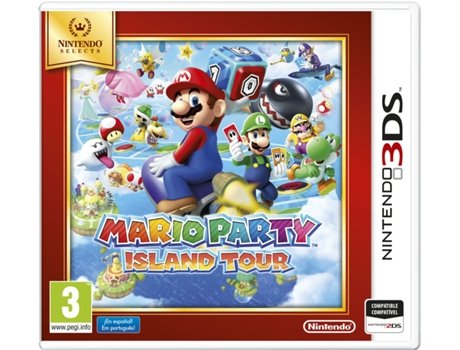 Jogo Nintendo 3DS Mario Party: Island Tour