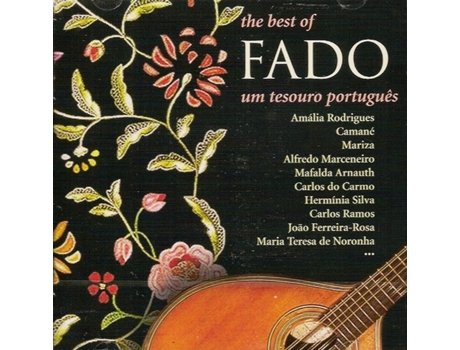 CD The Best of Fado - Um Tesouro Português Vol.1 — Portuguesa