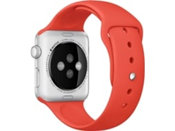 APPLE Watch Sport 42mm Laranja, Prateado — Ecrã Retina | Wi-Fi | Bluetooth 4.0 | Até 18 horas de autonomia