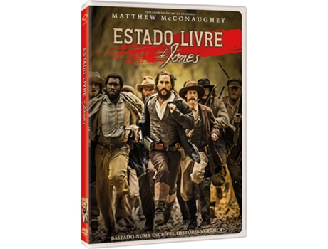 DVD Estado Livre de Jones — Do realizador Gary Ross
