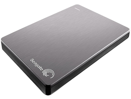 Disco Externo 2.5'' SEAGATE 2TB Backup Plus prata — 2.5'' | 2 TB | USB 3.0