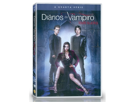 DVD Diários do Vampiro - Temporada Série — De: Kevin Williamson | Com: Candice Accola,Ian Somerhalder,Nina Dobrev,Paul Wesley