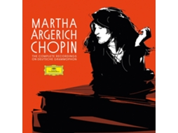 CD Martha Argerich - Complete Chopin Recordings On Deuts — Clássica