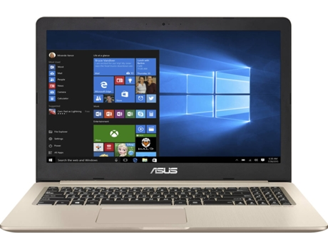 Portátil 15.6'' ASUS N580VD-77A05DB2 — Intel Core i7-7700HQ / 16 GB / 1TB+256GB SSD / NVIDIA GeForce GTX 1050