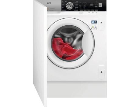 Máquina de Lavar Roupa Encastre AEG L7FEE841BI (8 kg - 1400 rpm - Branco)