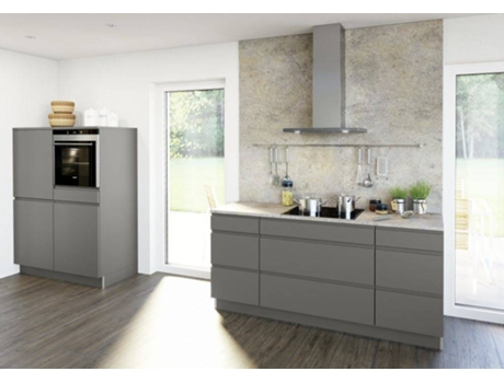 Cozinha Moderna Cinza Wortenpt