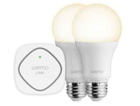 Kit Segurança BELKIN Wemo e 2 Lâmpadas Smart LED — Smart Lighting