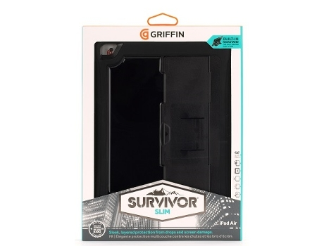Capa Tablet GRIFFIN SURVIVOR iPad Air 2 — Compatibilidade: iPad Air 2