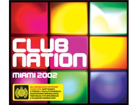 CD Club Nation Miami 2002