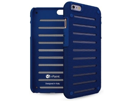 Capa I-PAINT Metal iPhone 6/6S Sapphire — Capa / iPhone 6/6S