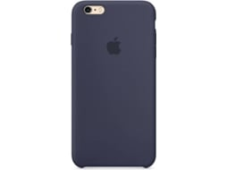 Capa APPLE Silicone iPhone 6 Plus, 6s Plus Azul — Compatibilidade: iPhone 6 Plus, 6s Plus