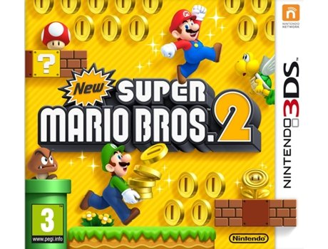 Jogo Nintendo 3DS New Super Mario Bros. 2