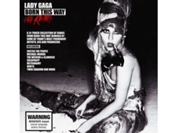 CD A Lady Gaga - Born This Way - The Remix — Pop