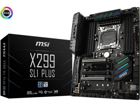 Motherboard MSI X299 SLI PLUS — AMD X299 | LGA 2066