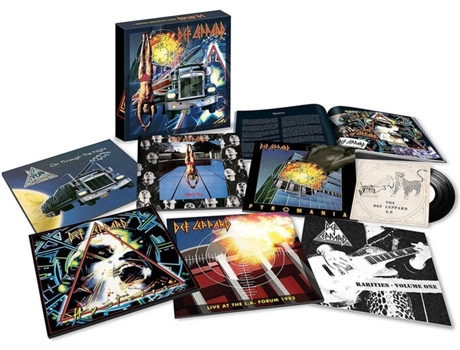 Vinil Maxi - Single Pol Def Leppard - The Vinyl Boxset Volume One — Pop-Rock