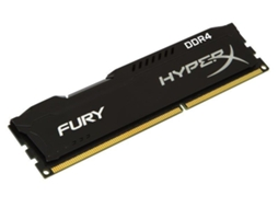 Memória RAM DDR4 8GB 2400 MHz DDR4 CL15 HyperX FURY Black — 8 GB | 2400 MHz | DDR4