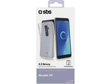 Capa Alcatel 3V SBS Skinny Transparente
