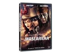 DVD O Mascarilha — De: Gore Verbinski | Com: Johnny Depp,Armie Hammer,William Fichtner,