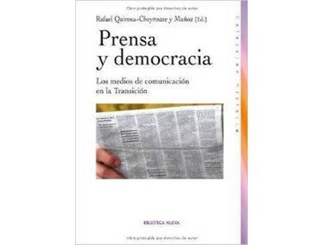 Livro Prensa Y Democracia de Vários Autores (Espanhol)