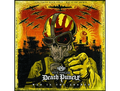 Vinil Five Finger Death Punch - War Is The Answer — Pop-Rock Internacional