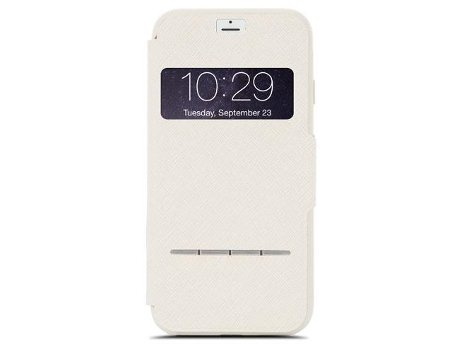 Capa MOSHI SenseCover iPhone 7, 8 Branco — Compatibilidade: iPhone 7, 8