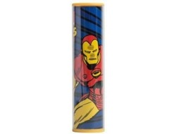Powerbank MAIKII Iron man Multicor — 2600 mAh | 1 USB | MicroUSB