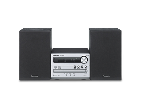 Aparelhagem Hi-Fi PANASONIC SC-PM250EC-S — 20 W | Bluetooth | CD,MP3