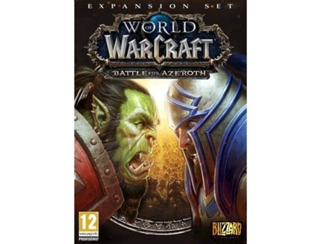Jogo PC World of Warcraft Battle for Azeroth (RPG - M12) — RPG | Idade mínima recomendada: 12