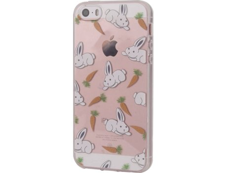 Capa KUNFT Bunnies iPhone 5, 5s, SE — Compatibilidade: iPhone 5, 5s, SE