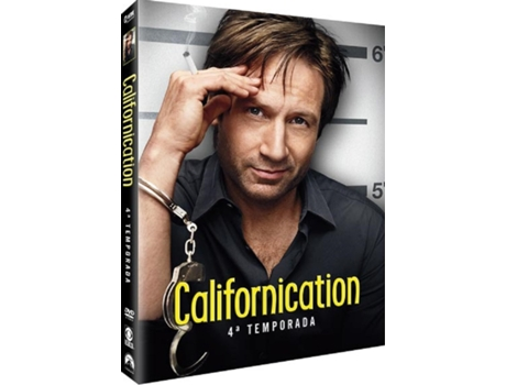 DVD Californication - Temporada 4 — De: Tom Kapinos | Com: David Duchovny, Natascha McElhone