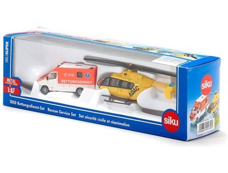 Siku salvamento-helicóptero Ambulance