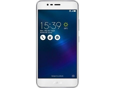 Smartphone ASUS Zenfone 3 Max Silver — Android 6.0 / 5.2'' /Quad-Core 1.25 GHz