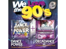CD Vários - We Love the 90's — Pop