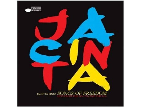 CD Jacinta - Songs of Freedom — Música do Mundo