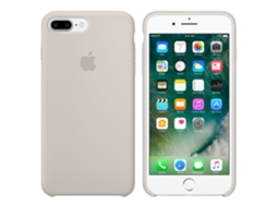 Capa Silicone APPLE iPhone 7 Plus Stone — Compatibilidade: iPhone 7 Plus