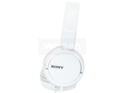Auscultadores Com fio SONY MDRZX110 (On Ear - Microfone - Branco) — On Ear | Microfone | Atende chamadas