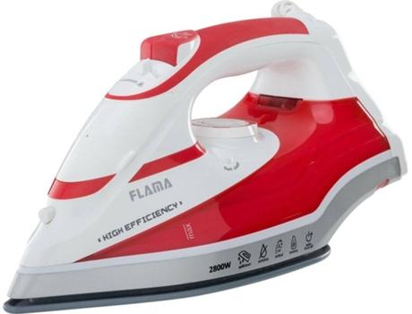 Ferro a Vapor FLAMA 5387FL (Jato vapor: 90 g/min - Base: Cerâmica) | [5887895 ]