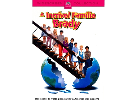 DVD A Incrível Família Brady — De: Betty Thomas | Com: Shelley Long, Gary Cole, Christine Taylor