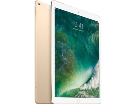 iPad Pro 12.9'' APPLE Wi-Fi + Cellular 256GB Dourado — 12.9'' | 256 GB | iOS 10