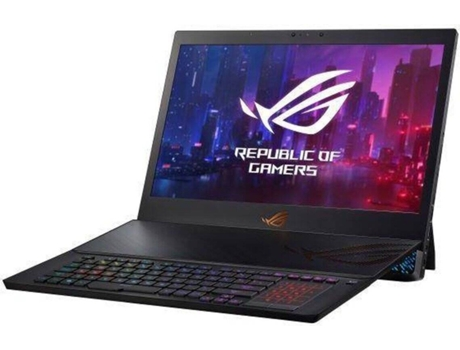 Portátil Gaming ASUS ROG Mothership - GZ700GX-99D28CP1 (17.3'' - Intel Core i9-9980HK - RAM: 64 GB - 1.5 TB SSD - NVIDIA GeForce RTX 2080) — Windows 10 Pro | Full HD