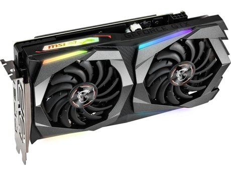Placa Gráfica MSI GeForce GTX 1660Ti Gaming X (NVIDIA - 6 GB DDR6)