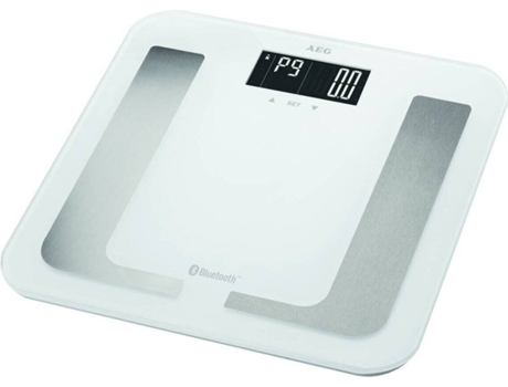 Balança Digital AEG 5653 BT branca ( Peso máximo 150 kg) | [6130405 ]