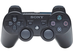 Comando Dualshock PS3 III Black (Wireless) — Compatibilidade: PS3