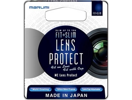 Filtro MARUMI Fit+Slim MC Protetor — 37MM