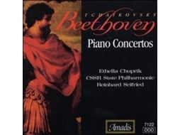 CD Beethoven - Piano Concerto No. 5 — Clássica
