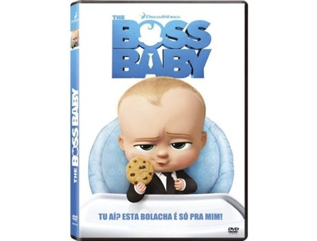 DVD The Boss Baby (De: Tom McGrath) — De: Tom McGrath