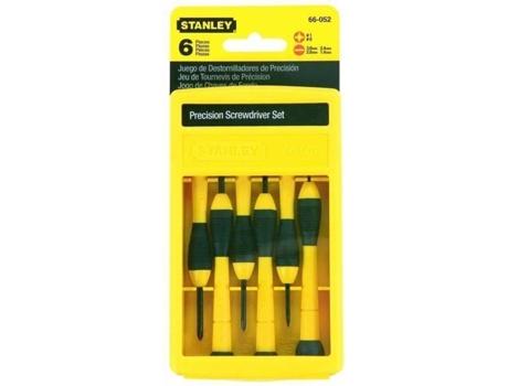 Caixa de Chaves de Fendas - 6 peças STANLEY 66052