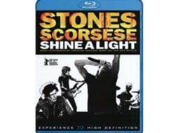 Blu-Ray Shine a Light — De: Martin Scorsese | Com: Mick Jagger,Keith Richards,Charlie Watts,Ron Wood,Darryl Jones