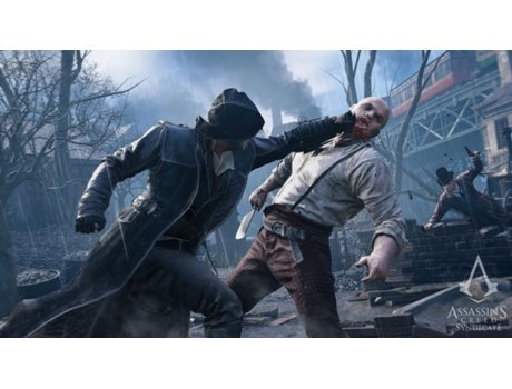 Pré Reserva Jogo Xbox One Assassin´s Creed Syndicate — Inclui Missão Extra The Darwin and Dickens Conspirancy. Artigo Exclusivo Worten.