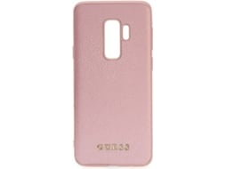 Capa GUESS Iridescent  Samsung Galaxy S9 Plus Rosa — Compatibilidade: Samsung Galaxy S9 Plus